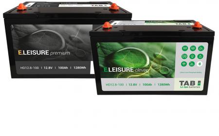 Mar Abierto Nueva gama E.Leisure de TAB Batteries con tecnoilogía Li-ion