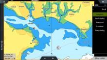 Mar Abierto - El nivel de detalle de las cartas C-Map Max N que utilizan los MFD