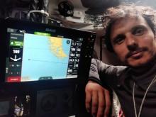 Mar Abierto - Pocas horas antes de doblar el cabo de Hornos, Didac Costa nos man