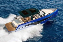 Mar Abierto - El casco de la Fjord 41XL gana modernidad de líneas, al tiempo que