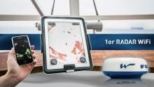 Mar Abierto - La señal radar se transmite de forma inalámbrica, así como la velo