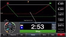 Mar Abierto -La segunda pantalla ya dibuja la línea de salida, incluyendo laylin
