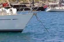 Mar Abierto - El gancho en la cadena alivia al molinete de os esfuerzos del fond