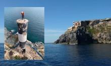 Mar Abierto - La baliza de la punta de s'Esperó señala la entrada norte del puer