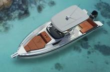 Mar Abierto Moderno y atractivo diseño de Bill Dixon para la Ryck 280, primer mo