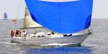 Mar Abierto - Una vela que da alas al barco, incluso con ventolinas. (foto alfre