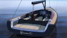 Mar AbiertoEl Tofinou 9.7 combina modernidad y clasicismo en un dayboat de altas