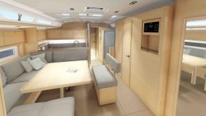 Mar Abierto - La versión Easy del Dufour 530 ofrece hasta 6 cabinas dobles (más