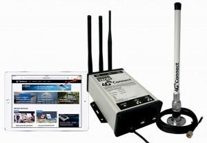Mar Abierto - La versión Standard del 4G Connect de Digital Yacht lleva dos ante