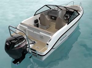 Mar Abierto - Nueva versión Bowrider de la Quicksilver Activ 555 con un aspecto