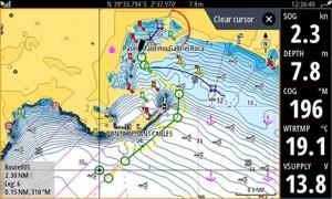 Mar Abierto - El Easy Routing dibuja automáticamente la mejor y más segura ruta