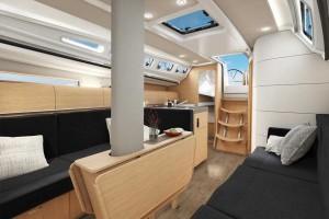 Mar Abierto - La distribución propone opciones en el tipo de litera de la cabina