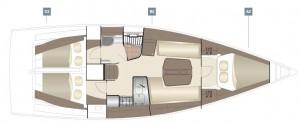 Mar Abierto - Distribución clásica con la decoración modernizada para conseguir
