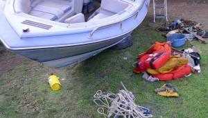 Mar Abierto - No hay necesidad de llevar a bordo los equipos que no sean necesar