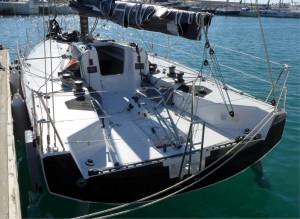 Mar Abierto - Bañera despejada y maniobra convencional (de regatas) en el nuevo