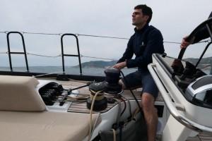 Mar Abierto - El piano de mordedores del palo y los dos pares de winches quedan