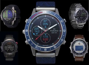 Mar Abierto - La colección limitada MARQ de Garmin la componen cinco modelos dis