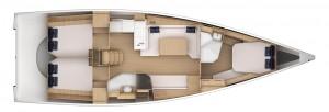 Mar Abierto - Tres cabinas dobles y dos baños completos en unos interiores confo