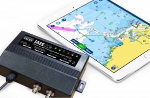 Mar Abierto El equipo lleva transmisión WiFi para llevar los datos AIS a tableta