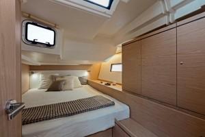 Mar Abierto - Los invitados disponen de dos cabinas dobles en popa compartiendo