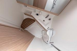 Mar Abierto - El tamaño de las cabinas de baño varía en función del número de ca