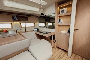 Mar Abierto - El asiento del navegante se convierte en 'chaisse-longue' para las