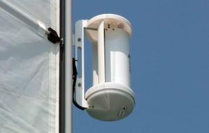 Mar Abierto - El rotor del LE-v50 se puede instalar sobre un pedestal convencion