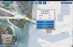 Mar Abierto - Una iconografía heredada del TimeZero que aprovecha el manejo táct