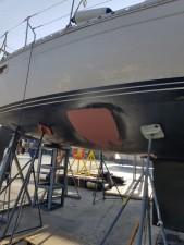 Mar Abierto - La reparación exterior de la fibra se completó con imprimación y m