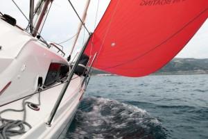 Mar Abierto - Con genaquer y unos 10 nudos de TWS la velocidad superaba regularm