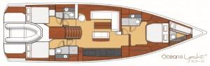 Mar Abierto - Versión del OY62 con tres cabinas dobles y otros tantos baños comp
