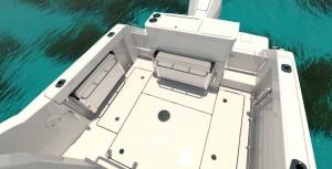 Mar AbiertoLa bañera es amplia y funcional, con opciones a un  completo módulo d