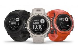 Mar Abierto - Tres atractivos colores para el nuevo reloj Garmin Instinc (PVR: 2