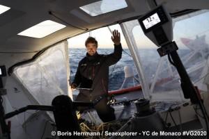 Mar Abierto - El alemán Boris Herrmann, candidato al triunfo en la Vendée Globe