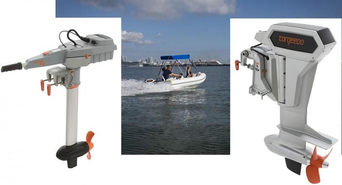 Mar Abierto - Dos nuevas opciones de fueraborda eléctrico Torqeedo para 2021.