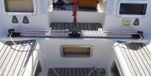 Mar Abierto - Las nuevas poleas en los terminales y un flamante cabo de ajuste d