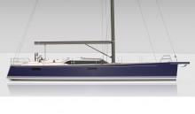 Mar Abierto - Una silueta de estética intemporal en el Contest 55 CS, un velero