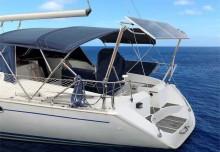 Mar Abierto - Una única estructura EnergyFix permite instalar el radar, los pane