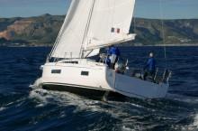 Mar Abierto - Con foque 105% y un rizo en la mayor, el OC 41.1 mantenía medias s