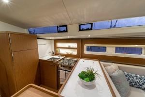 """Mar Abierto - La cocina en """"G"""" se hace muy práctica tanto en puerto como en nave"""