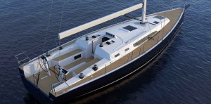 Mar Abierto - El J 45 equipa una cubierta funcional, con su maniobra muy complet