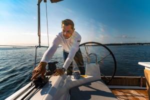 Mar Abierto - La ergonomía de manejo de los winches y mordedores sobre las brazo