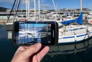 Mar Abierto - Las fotos quedan georeferenciadas y es posible utilizarlas como wa