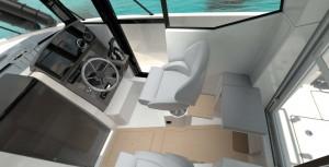Mar Abierto - La consola de pilotaje tiene una visibilidad 360º y puerta lateral