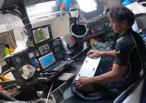 Mar Abierto Didac Costa ha instalado el piloto automático B&G H-5000 para disput